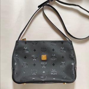 Like New Vintage MCM Monogram Crossbody Bag